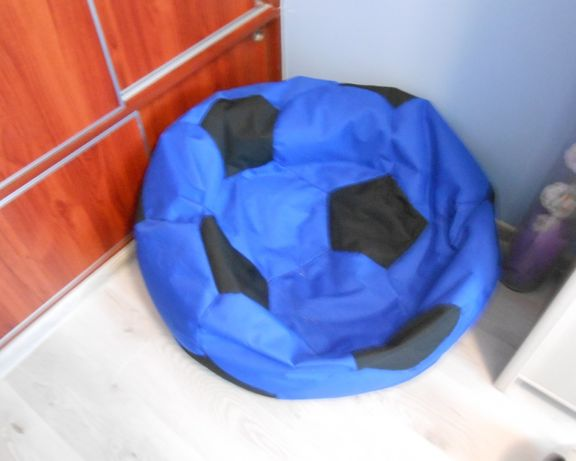 fotel w kształcie piłki
