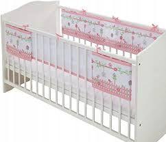 osłonka na łóżeczko dla dziecka dziecięce