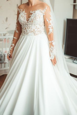 Suknia ślubna Magnolia Milla Nova + dodatki