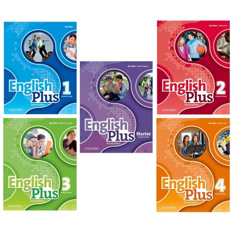 Друк книг English Plus (2nd edition) - starter,1,2,3,4