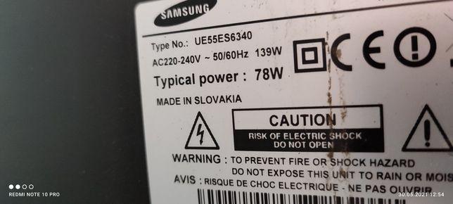 Samsung UE55ES6340 płyta główna zasilacz