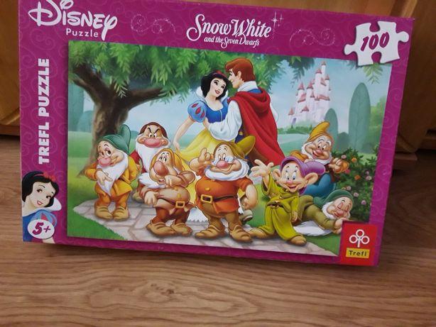 Puzzle Królewna Śnieżka, 100 elementów