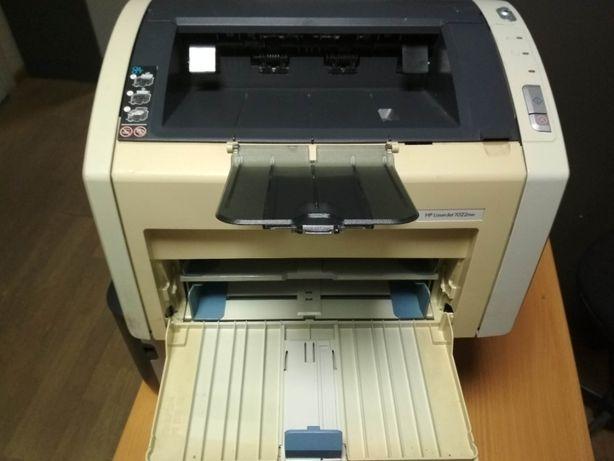 Лазерный принтер HP LaserJet 1022nw с WiFi и сетью RJ-45