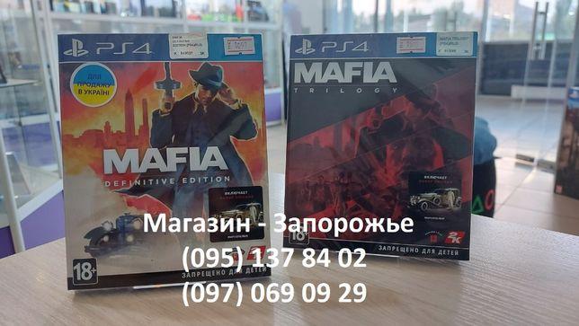 Игра Mafia Definitive Edition / Mafia Trilogy для PS4 (Русский язык)