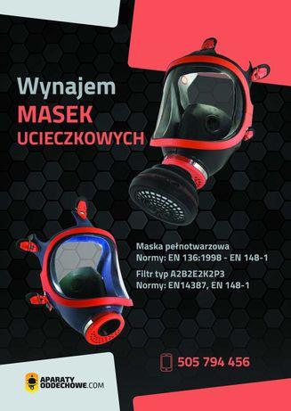 Wynajem Maska ucieczkowa, Filtr ABEK2P3 Climax, Dąbrowa Górnicza