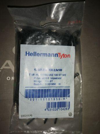 Opaski zaciskowe małe Hellermann Tyton 11 paczek