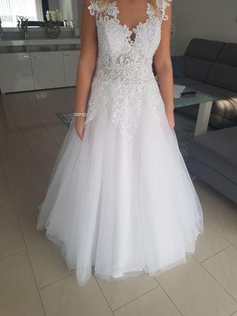Suknia ślubna 36 / 38 biała
