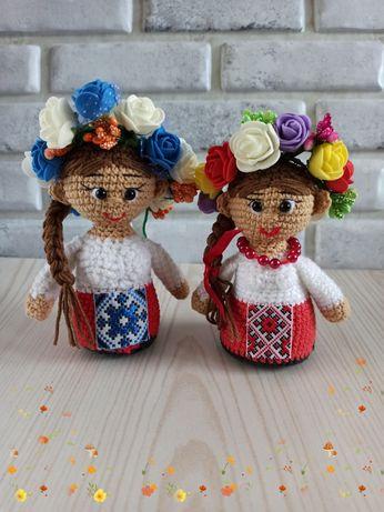 Кукла украиночка.Украинская символика. Сувениры в украинском стиле.