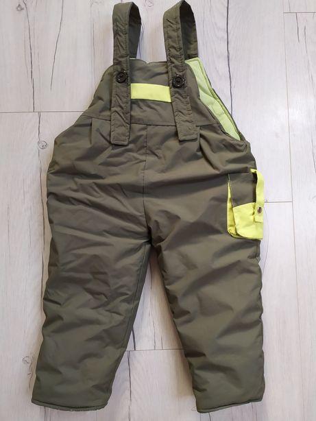 Spodnie ciepłe zimowe 110