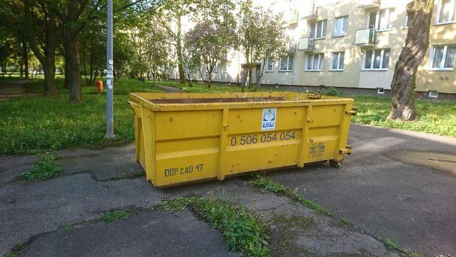 Wynajem kontenera na śmieci budowlane, gruz i inne odpady - Warszawa i