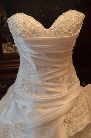 Свадебное платье от Виктории Максимчук