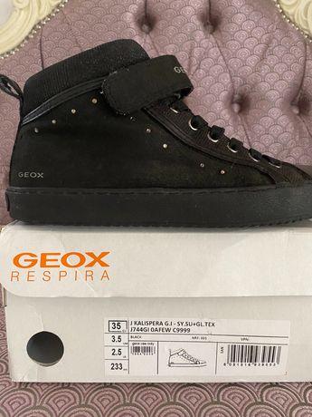 Кеди для хлопчиків Geox 35 розміру, кросівки, дитяче взуття