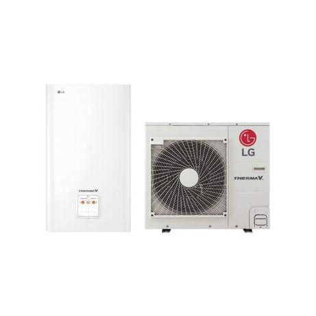 Pompa ciepła powietrzna LG 9kW HU091 dom 150m hydrobox MONTAŻ