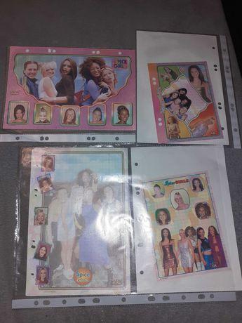 Karteczki do segregatora, kolekcja spice Girls