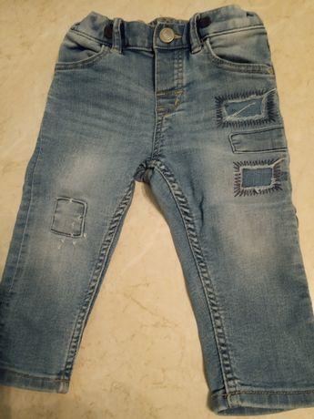 Spodnie dżinsowe H&M 74