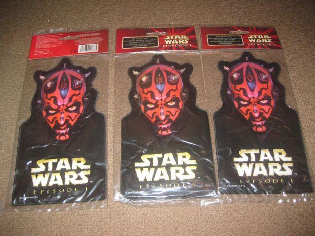 "3 Estojos Escolares ""Star Wars"" Novos e Selados!"