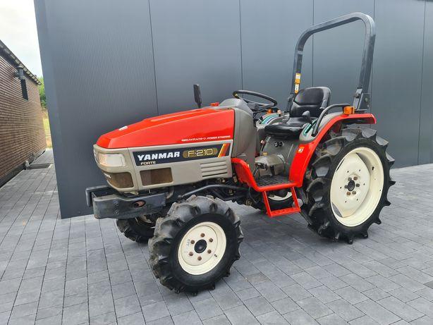 Mini traktor Yanmar F210,wspomaganie,rewers,maly traktorek