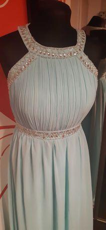 suknia błękitna M