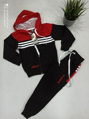 Dres dziecięcy logo Adidas wyszywane 98-146 3 kolory
