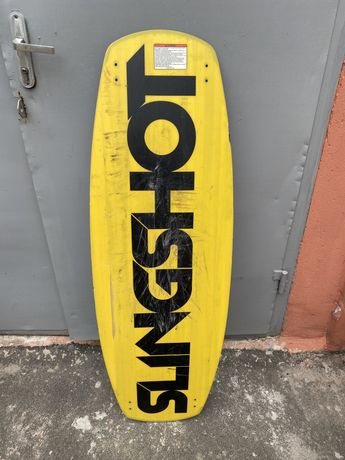 Wakeboard вейкборд доска+крепы slingshot
