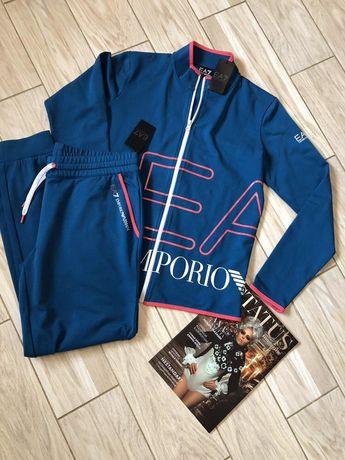Женский летний спортивный костюм Emporio Armani original