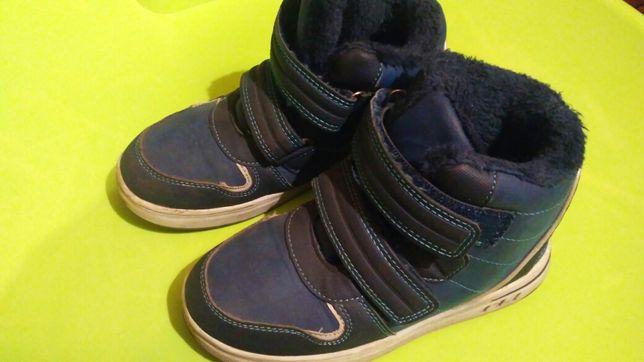 Зимние хайтопы ботинки р 31