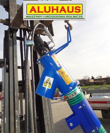 Elastyczny przenośnik Żmijka Hydrauliczna FI 110