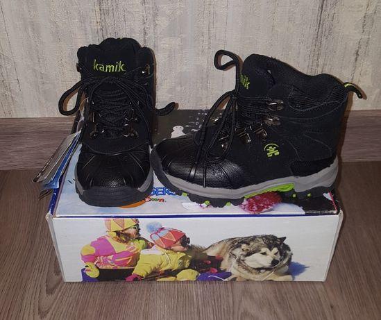 Новые зимние KAMIK Winter Boots р.10 (р.27) термо сапоги ботинки 17см