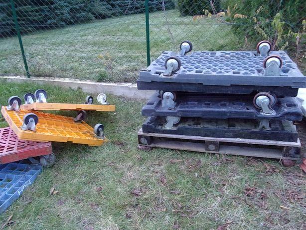 Wózki plastykowe i metalowe