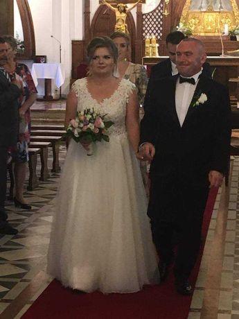 Suknia ślubna projektu Justyny Kodym