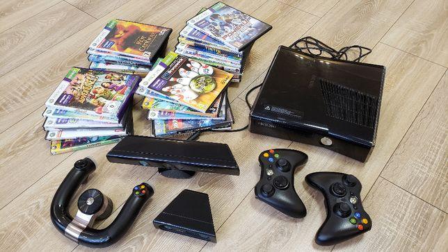 Игровая приставка Xbox 360 S в максимально возможной комплектации