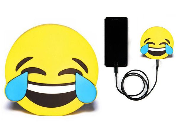 Powerbank Bateria Zewnętrzna CARTOON MOBILE Emotikona Cry 2600 mAh USB