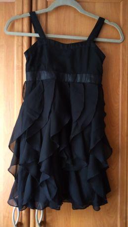 Elegancka czarna sukienka H&M