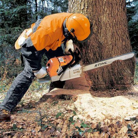 Спил деревьев распил дров.
