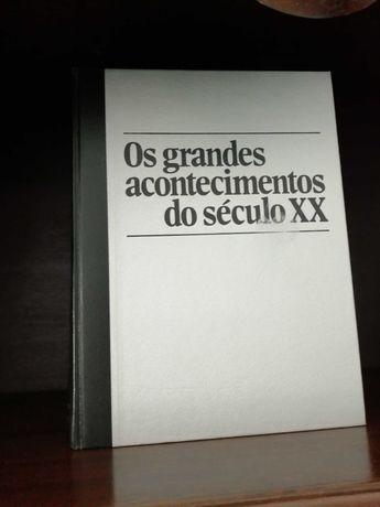 """Livro """"Os grandes acontecimento do século XX"""""""