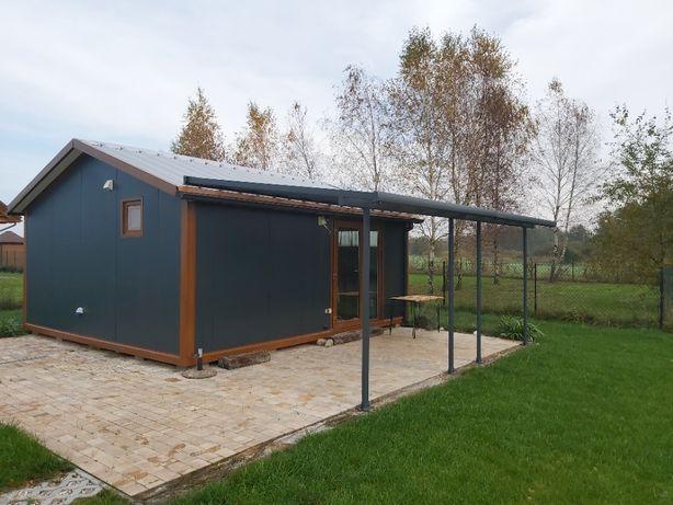 Domek Letniskowy Grabniak jezioro Rotcze działka 700 m2