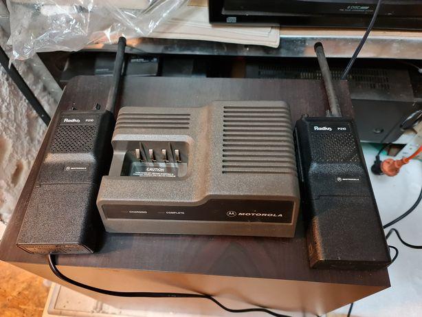 Motorola Radius p210 2szt + ladowarka stacja