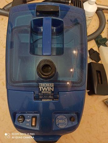 Продам моющий пылесос THOMAS TWIN AGUAFILTER 1500 вт с аквафильтром