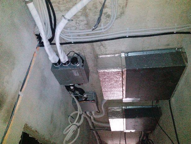 Установка демонтаж чистка заправка ремонт кондиционеров.