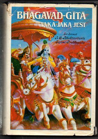 Bhagavad-Gita taka jaką jest Bhaktivedanta Swami Prabhupada