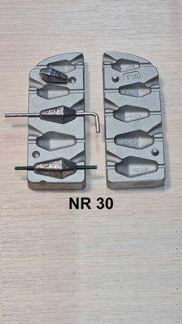 Forma wędkarska do odlewania ciężarków 20/30/40/50/60 gram