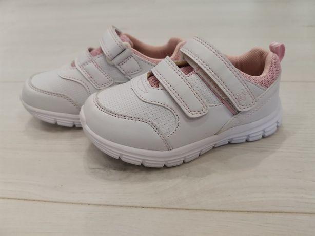 Новые фирменные белые кроссовки Lapsi, 26 р., стелька 16,5 см
