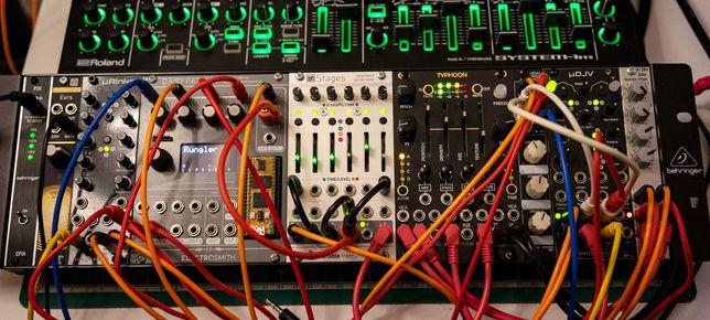 Eurorack rack behringer - 84hp frame + power