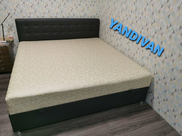 """Производство двухспальных Кроватей любого Размера """"Камила"""".Yandivan."""