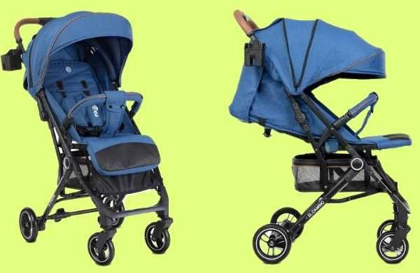 Новая легкая детская прогулочная коляска EL CAMINO IDEA + чехол