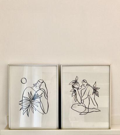 Plakat obraz grafika abstrakcja