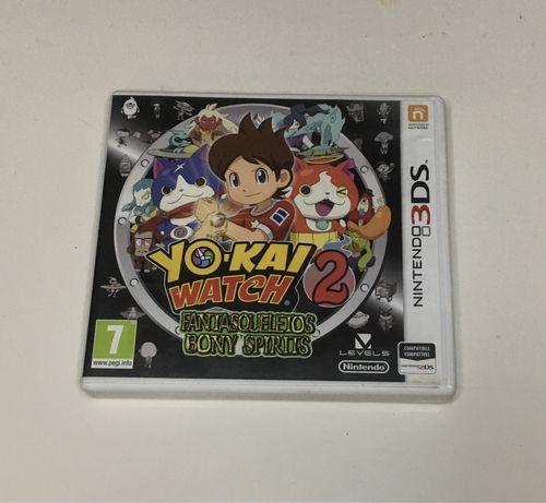 Yo-Kai Watch 2 Bony Spirits Nintendo 3DS completo