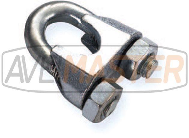 Cerra Cabos N741 em aço inox AISI304 para cabo de aço
