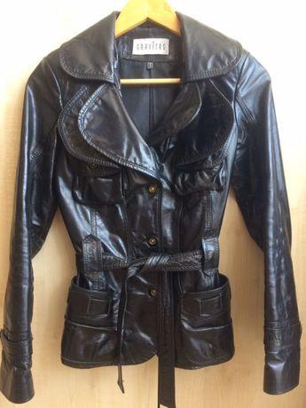 Кожа кожаная куртка Шкіряна модна жіноча куртка кожанка