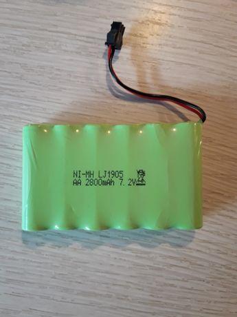 Bateria 7.2V 2800mAh Akumulator NI-MH AA RC Auta